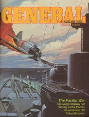 "Vol. 28, #5 ""The Pacific War, Midway/Guadalcanal Variant Map"""