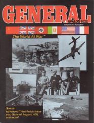 "Vol. 28, #6 ""Advanced Third Reich, The Guns of August, ASL Scenarios"""