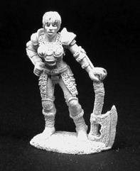 Kallista - Female Warrior w/Axe