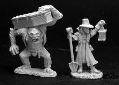 Townsfolk VI - Undertaker & Henchman