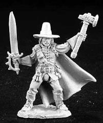 Abram Duskwalker - Witch Hunter w/Sword & Axe