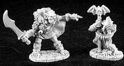 Goblin Leader & Shaman