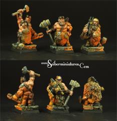 Dwarf Blacksmiths Set 2