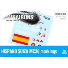 Hispano Suiza MC-36 Markings