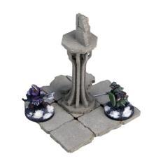 Frozen City Ruins - Single Column (Pre-Painted)