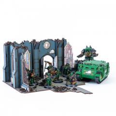 Urbes Mortis Ruins 01 (Pre-Painted)