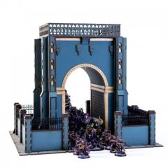 Urbes Mortis Gated Archway (Pre-Painted)
