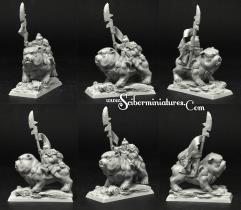 Gnome Warrior on Dog