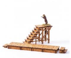Stairway and Boardwalk (Unpainted)