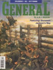 "Vol. 29, #4 ""Stonewall Jackson's Way, Gettysburg '88, ASL Scenarios, Roads to Antietam Expansion Map"""