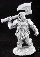 Bertok - Adventuring Warrior w/Great Axe