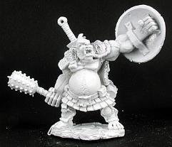 Gorevane - Half Ogre Fighter