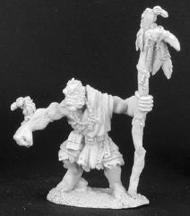 Quosk Ravensire - Half Orc Druid