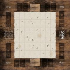 2GM Tactics Wargame 2 Player Playmat