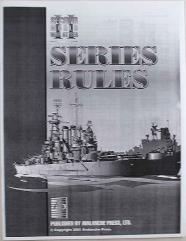 2nd World War at Sea Series Rules