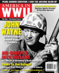 "Vol. 9, #4 ""John Wayne, Yanks to the Gulags!"""