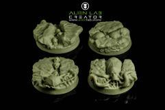 32mm Aliens (Round Base)