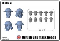 British Heads Set