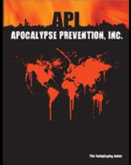 Apocalypse Prevention, Inc. (1st Edition)