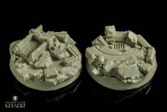 40mm Urban Rubble (Round Base)