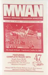 """#47 """"The Spirit of '76 - ARW Miniature Rules, Toy Soldier - Wargame Rules"""""""
