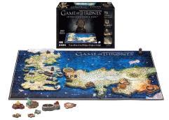 Game of Thrones - 4D Puzzle Westerors & Essos