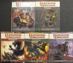 Dungeons & Dragons 4th Edition Sourcebook Collection - 10 Books!