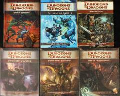 D&D 4th Edition Module Collection - 6 Books!