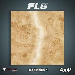 4' x 4' - Badlands #1