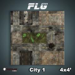 4' x 4' - City #1