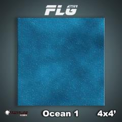 4' x 4' - Ocean #1
