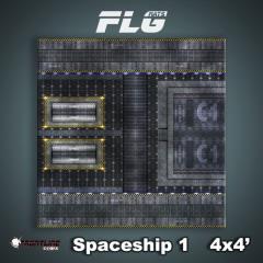 4' x 4' - Spaceship #1
