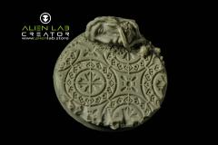 50mm Ancient Ruins (Round Base) #1