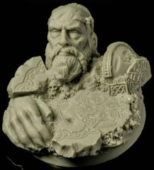 50mm Celtic Ruins (Round Base)