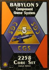 Babylon 5 Component Game System Collection - Core Game + 4 Expansions!