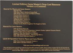 Game Master's Drop Card Resource (Limited Edition)