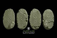 60mm Ancient Ruins (Oval Base)
