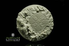 60mm Celtic Ruins (Round Base)