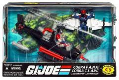 Cobra F.A.N.G. & Cobra C.L.A.W. w/Cobra Viper & Cobra Pilot