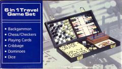6 in 1 Travel Game Set