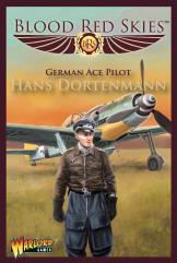 Fw 190 Dora German Ace Pilot - Hans Dortenmann