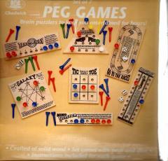 Set of 7 Peg Games