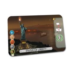 7 Wonders Duel Promo - Statue of Liberty