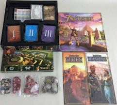 7 Wonders Collection #6 - Base Game + 3 Expansions!