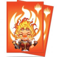 Card Sleeves - Chandra, Maximum Power (100)