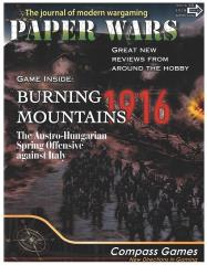 """#89 """"Burning Mountains Design and Historical Notes, Mission Beyond Darkness, Supply Lines of the American Revolution"""""""