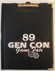 1989 Gen Con Official Clip Board