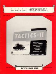 "Vol. 9, #6 ""Tactics II, Jutland, Campaign at Waterloo"""