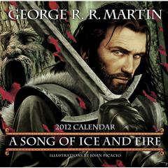 Song of Ice and Fire, A - 2012 Calendar