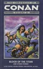 Chronicles of Conan, The Vol. 21 - Blood of the Titan